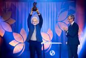 2020 Laureate Ales Bialiatski at the Award Presentation