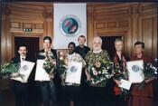 2002 Laureates Kvinna till Kvinna, Martin Almada, Centre Jeunes Kamenge (CJK) & Martin Green