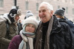 Greta Thunberg and Daniel Ellsberg in Stockholm