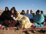 Aminatou Haidar and Sahrawi women