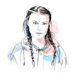 Greta Thunberg, 2019 Right Livelihood Award Laureate (Illustration)