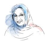 Aminatou Haidar, 2019 Right Livelihood Award Laureate (Illustration)