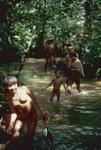 Yanomami people fishing