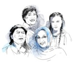 2019 Right Livelihood Award Laureates (Illustration)