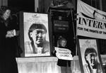 Vigil at Brazilian Embassy, 1990