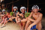 Yanomami men